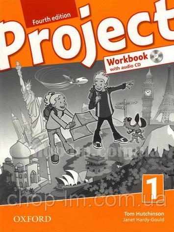 Робочий зошит Project Fourth Edition 1 Workbook with Audio CD and Practice Online, фото 2