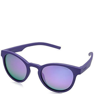Солнцезащитные очки Polaroid Очки женские в гибкой оправе с ультралегкими  поляризационными зеркальными линзами POLAROID (ПОЛАРОИД) P7021S-B3V49MF 75c8645e9a94f