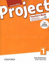 Книга для учителя Project Fourth Edition 1 Teacher's Book with Teacher's Resources MultiROM and Online Practic