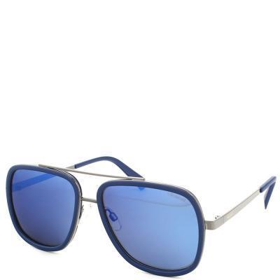 Солнцезащитные очки Polaroid Очки мужские с ультралегкими поляризационными  зеркальными линзами POLAROID (ПОЛАРОИД) P6033S-PJP575X af672a7c26d