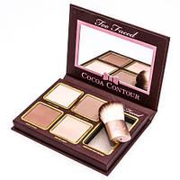 Палитра для контуринга лица Too Faced Cocoa Contour (4 цвета)