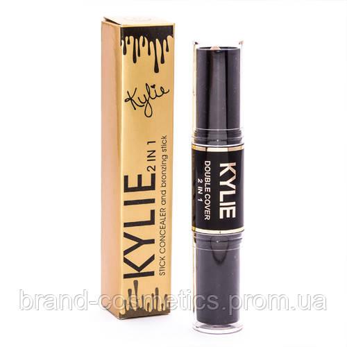 Консилер + бронзер Kylie 2 in 1 Сoncealer and bronzing stick