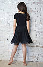 Платье для тренировок и выступлений черное, фото 2