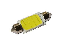 Светодиодная автолампа D39mm, 1W, COB