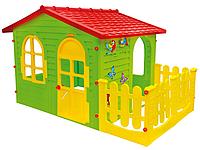 Домик для детей Mochtoys 10498 с верандой, фото 1