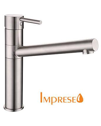 IMPRESE LOTTA cмеситель для кухни, сталь, фото 2