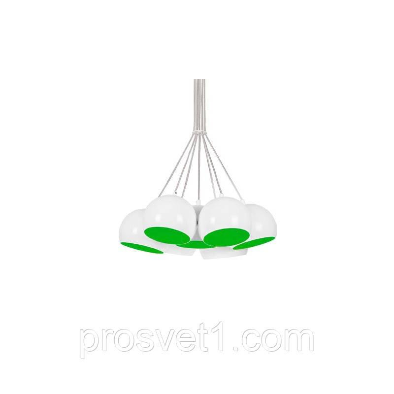 Люстра Nowodvorski BALL WHITE - GREEN FLUO 6474