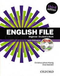 English File Third Edition Beginner Student's Book with iTutor / Учебник с диском