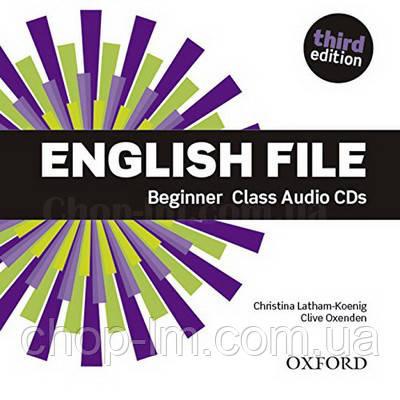 English File Third Edition Beginner Class Audio CDs / Аудио диск к курсу