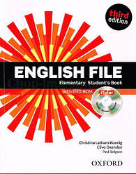 English File Third Edition Elementary Student's Book with iTutor / Учебник с диском