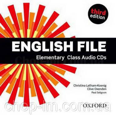 English File Third Edition Elementary Class Audio CDs  / Аудио диск к курсу