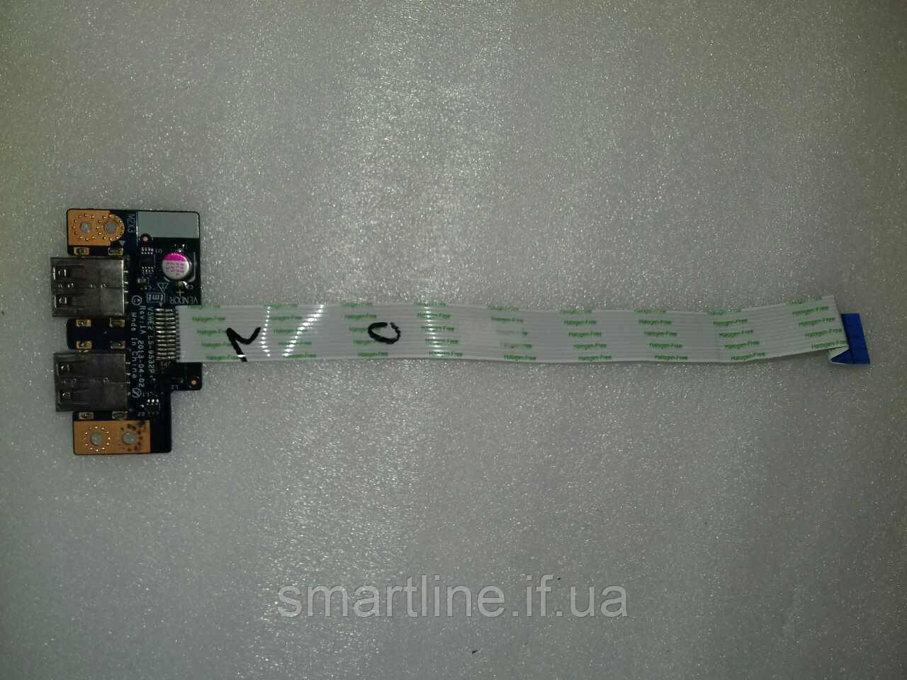 Плата USB ноутбука Packard Bell Z5WT3, Acer Aspire Е1 532, V5WE2, LS-9