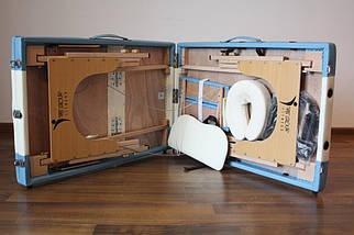 Массажный стол PBT, 2 сегментный, алюминьевый, фото 3