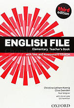English File Third Edition Elementary Teacher's Book with Test and Assessment CD-ROM / Книга для учителя