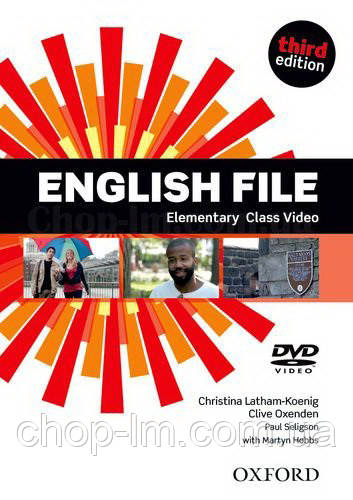 English File Third Edition Elementary Class DVD / Видео диск к курсу