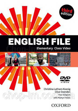 English File Third Edition Elementary Class DVD / Видео диск к курсу, фото 2