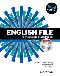 English File Third Edition Pre-Intermediate Student's Book with iTutor / Учебник с диском