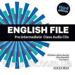 English File Third Edition Pre-Intermediate Class Audio CDs / Аудио диск к курсу