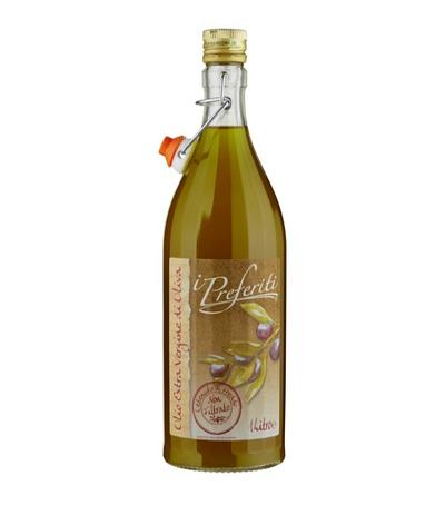 Оливковое масло I Preferiti non Filtratto 1л, фото 2