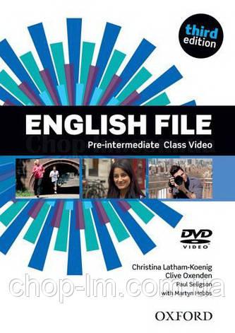 English File Third Edition Pre-Intermediate Class DVD / Видео диск к курсу, фото 2