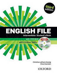 English File Third Edition Intermediate Student's Book with iTutor and Online Skills / Учебник с онлайн матер.