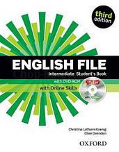 English File Third Edition Intermediate Student's Book with iTutor and Online Skills / Учебник с онлайн матер.