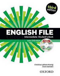 English File Third Edition Intermediate Student's Book with iTutor  / Учебник с диском