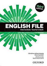 English File Third Edition Intermediate Teacher's Book with Test and Assessment CD-ROM / Книга для учителя