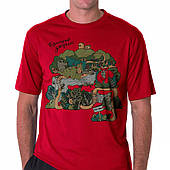 Футболка мужская Turbat JUNGLE (красный)