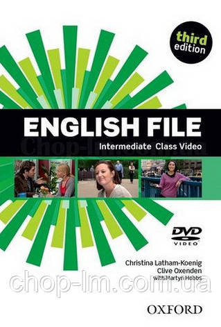 English File Third Edition Intermediate Class DVD / Видео диск к курсу, фото 2