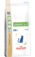 Royal Canin URINARY S/O FELINE0,4кг диета для кошек  при заболеваниях мочевыводящего тракта