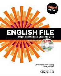 English File Third Edition Upper-Intermediate Student's Book with iTutor / Учебник с диском