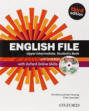 English File Third Edition Upper-Intermediate Student's Book with iTutor and Oxford Online Skills / Учебник