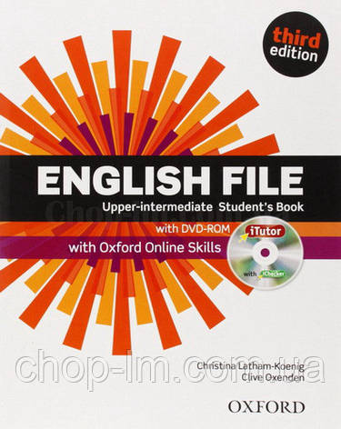 English File Third Edition Upper-Intermediate Student's Book with iTutor and Oxford Online Skills / Учебник, фото 2
