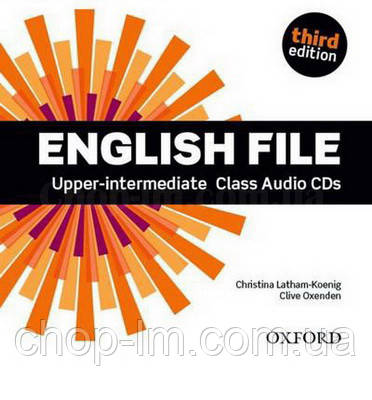 English File Third Edition Upper-intermediate Class Audio CDs / Аудио диск к курсу, фото 2
