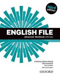 English File Third Edition Advanced Workbook with key / Рабочая тетрадь с ответами