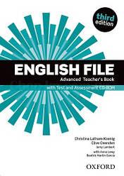 English File Third Edition Advanced Teacher's Book with Test and Assessment CD-ROM / Книга для учителя