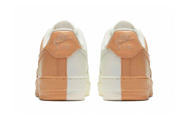 777e8a4d Кроссовки Nike Air Force 1 Low Split White Tan | Shop-mix.com.ua
