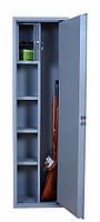 Оружейный сейф на 3 ружья с фальшпенелью СО-1400
