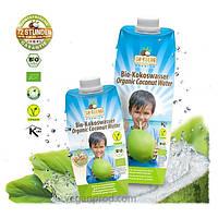 Органическая премиальная кокосовая вода, 330мл, Dr.Goerg