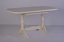 Стол Аврора обеденный раскладной деревянный 101(+35)*69 бежевый, фото 3