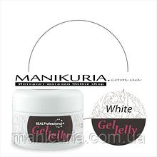 Гель-желе Real Professional Gel-Jelly White белый, 30 г