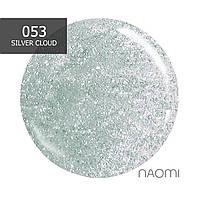 Гель-лак Naomi № 053 (cеро-изумрудный), 6 мл