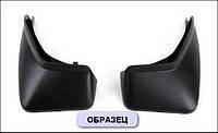 Модельные задние брызговики RENAULT SANDERO STEPWAY с 2011-  2шт/цвет:черный (производитель NovLine)