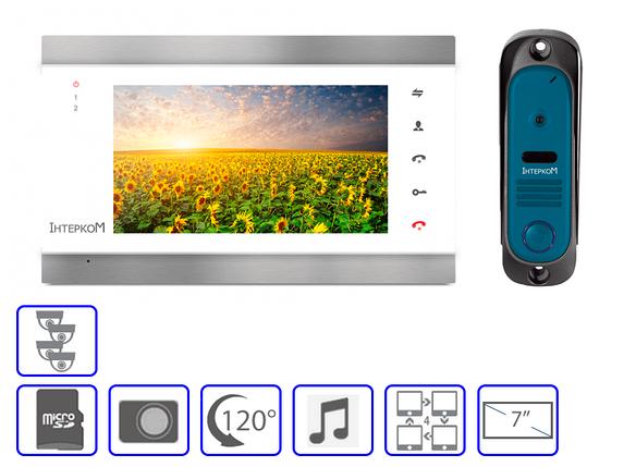 Комплект домофонной системы  Інтерком IM-02 +  Інтерком IM-10, фото 2