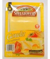 Сыр пластинами Gauda Swiatovid 150г