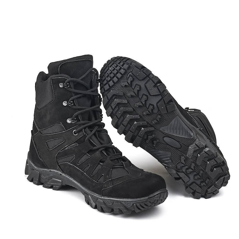 Берцы, ботинки тактические Памир черный