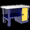 Стол металлический в гараж | Цена гаражного верстака инструментального изготовителя в Киеве