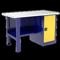 Стол металлический в гараж | Цена гаражного верстака инструментального изготовителя в Киеве , фото 1