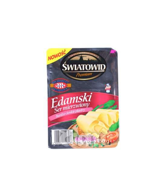 Сыр пластинами Edamski Swiatovid premium 150г